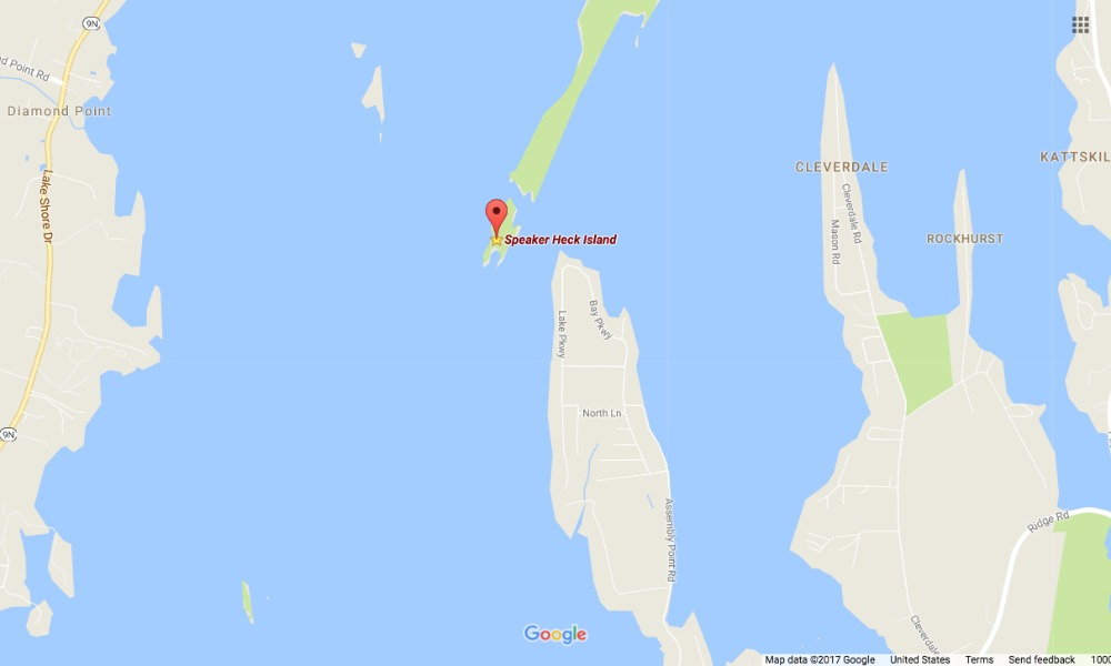 Speaker Heck Island
