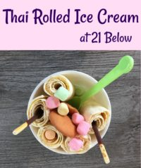 Thai Rolled Ice Cream 21 Below