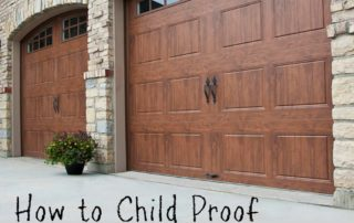 How to Child Proof Your Garage