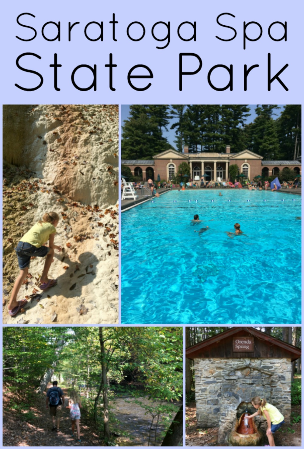 Saratoga Spa State Park A Nation Of Moms