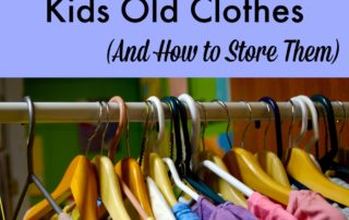 Why Keep Your Kids Old Clothes (And How to Store Them)