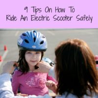 9 Tips On How To Ride An Electric Scooter Safely