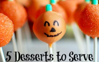 5 Desserts to Serve This Halloween