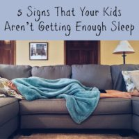 5 Signs That Your Kids Aren't Getting Enough Sleep