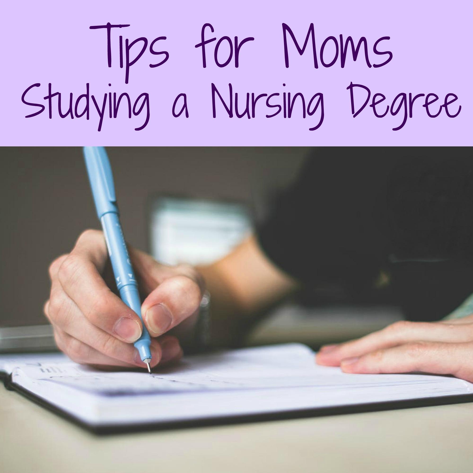 Tips for Moms Studying a Nursing Degree