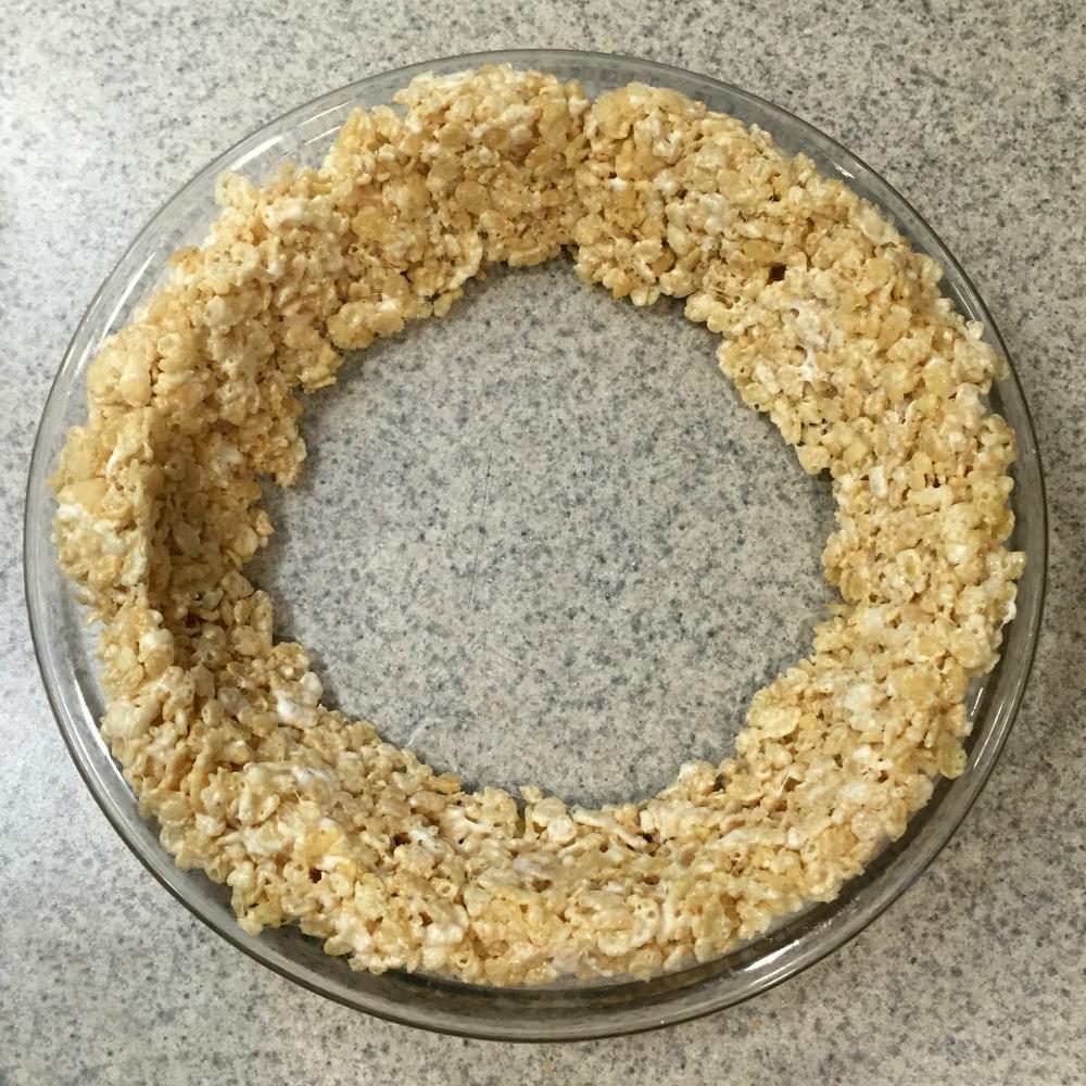 Rice Crispie Pie Crust