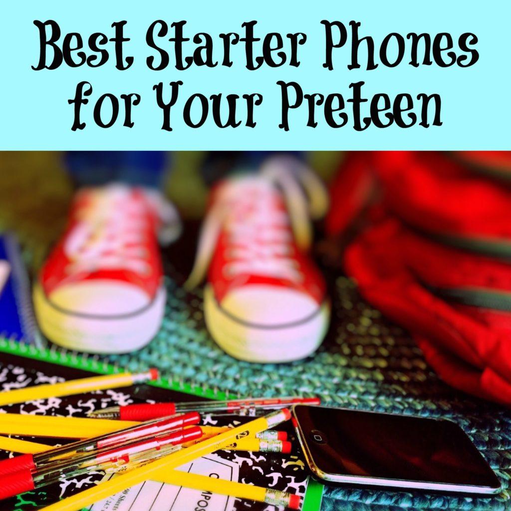 Best Starter Phones for Your Pre-Teen
