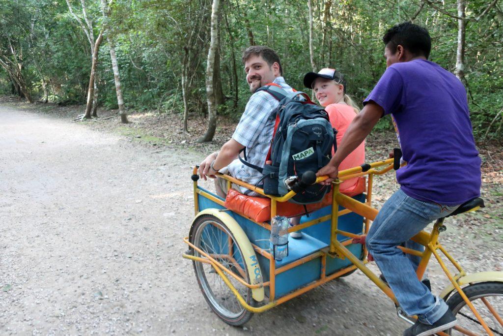Coba Mexico Bike Taxi