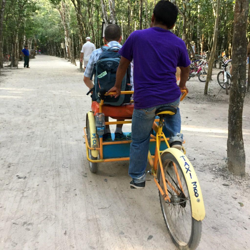 Coba Taxi Mexico