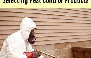 4 Things to Consider When Selecting Pest Control Products