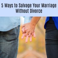 Work It Out: 5 Ways to Salvage Your Marriage Without Divorce