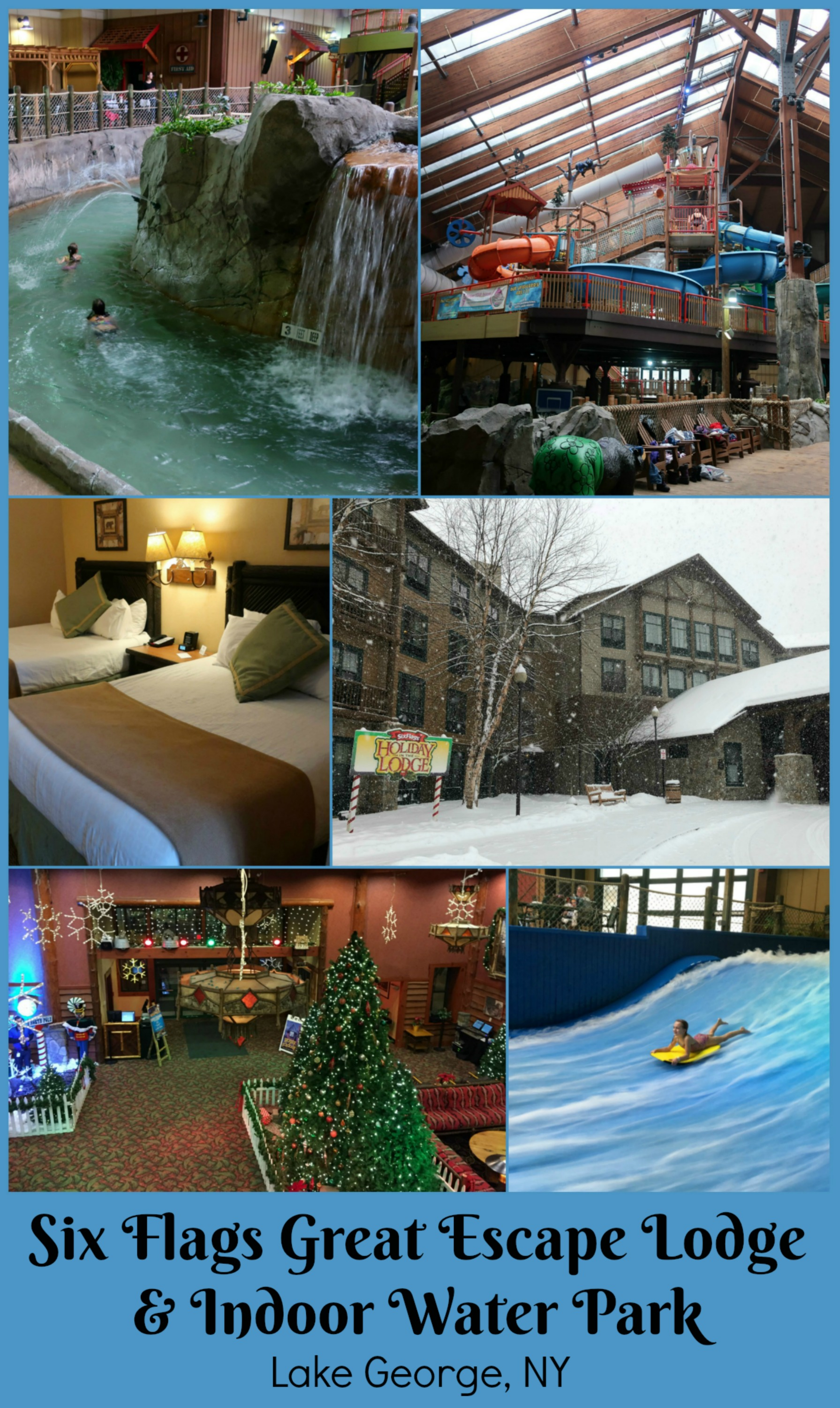 Six Flags Great Escape Lodge & Indoor Water Park Lake George