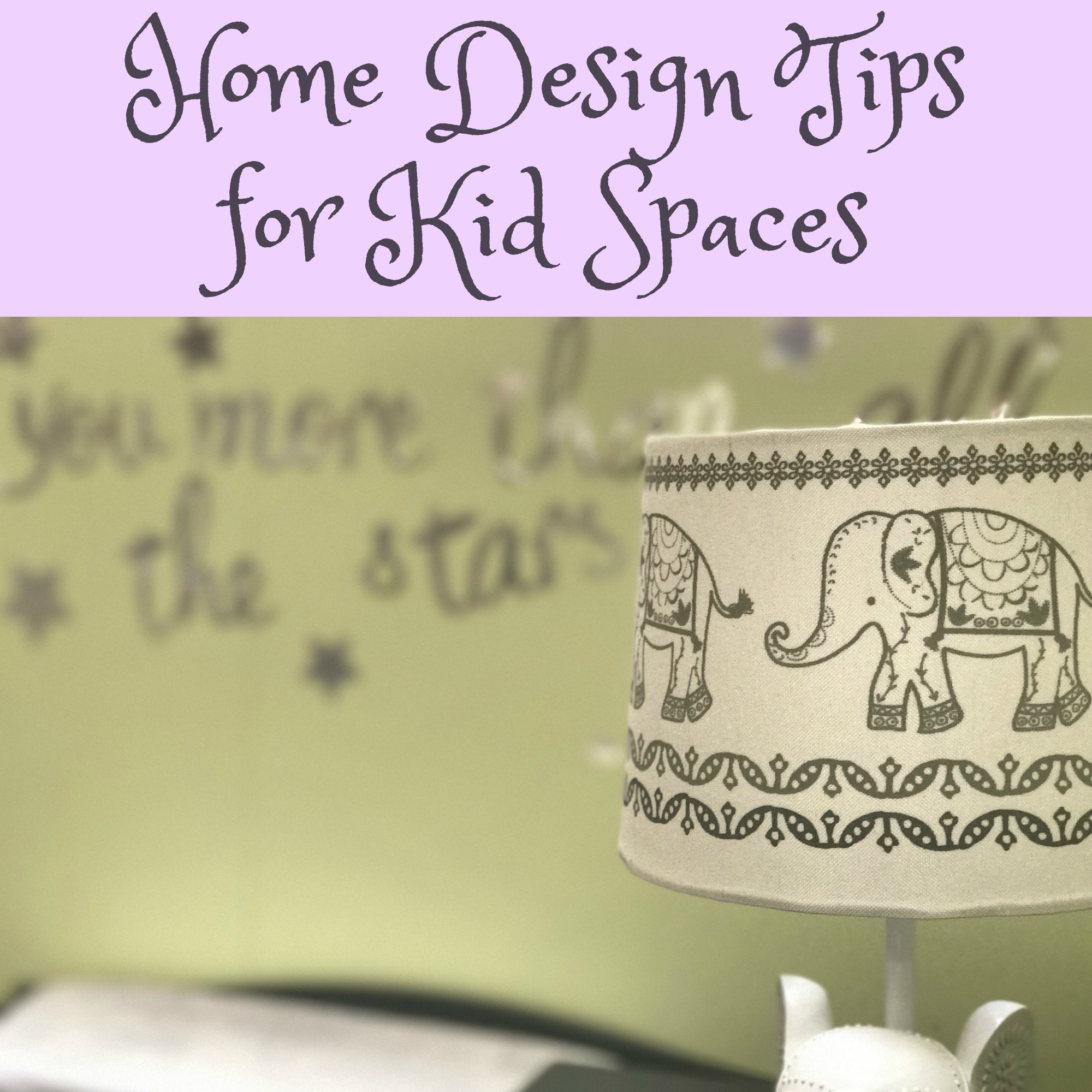 Home Design Tips for Kid Spaces