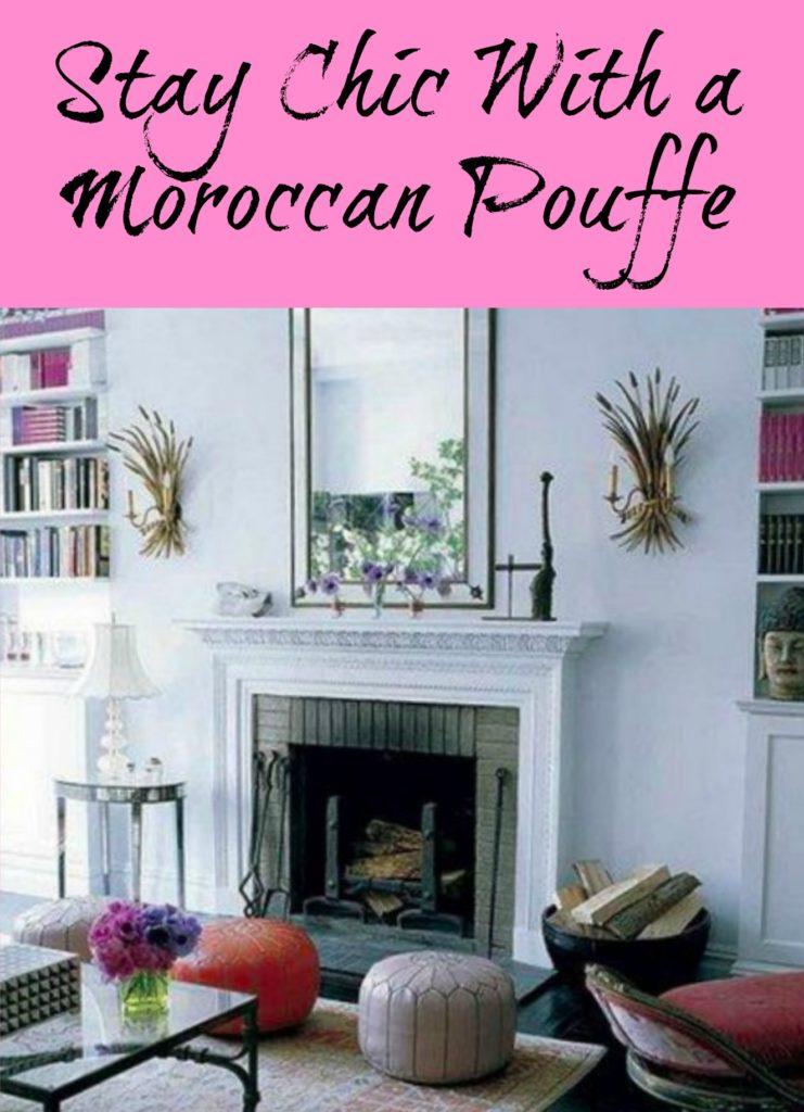 Moroccan Pouffe