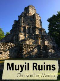 Muyil Ruins Chunyaxche, Mexico