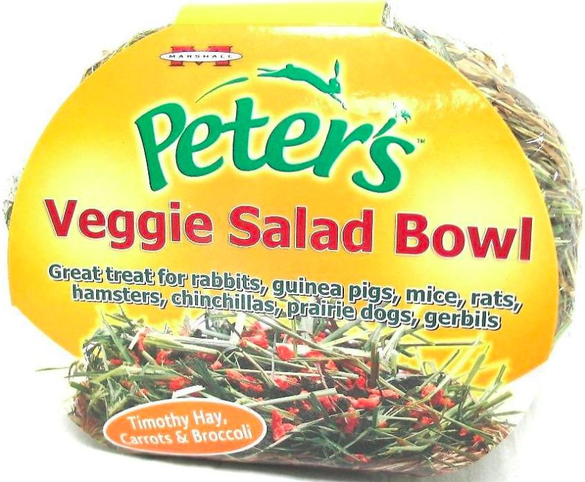 Peter's Veggie Salad Bowl Small Animal Treats