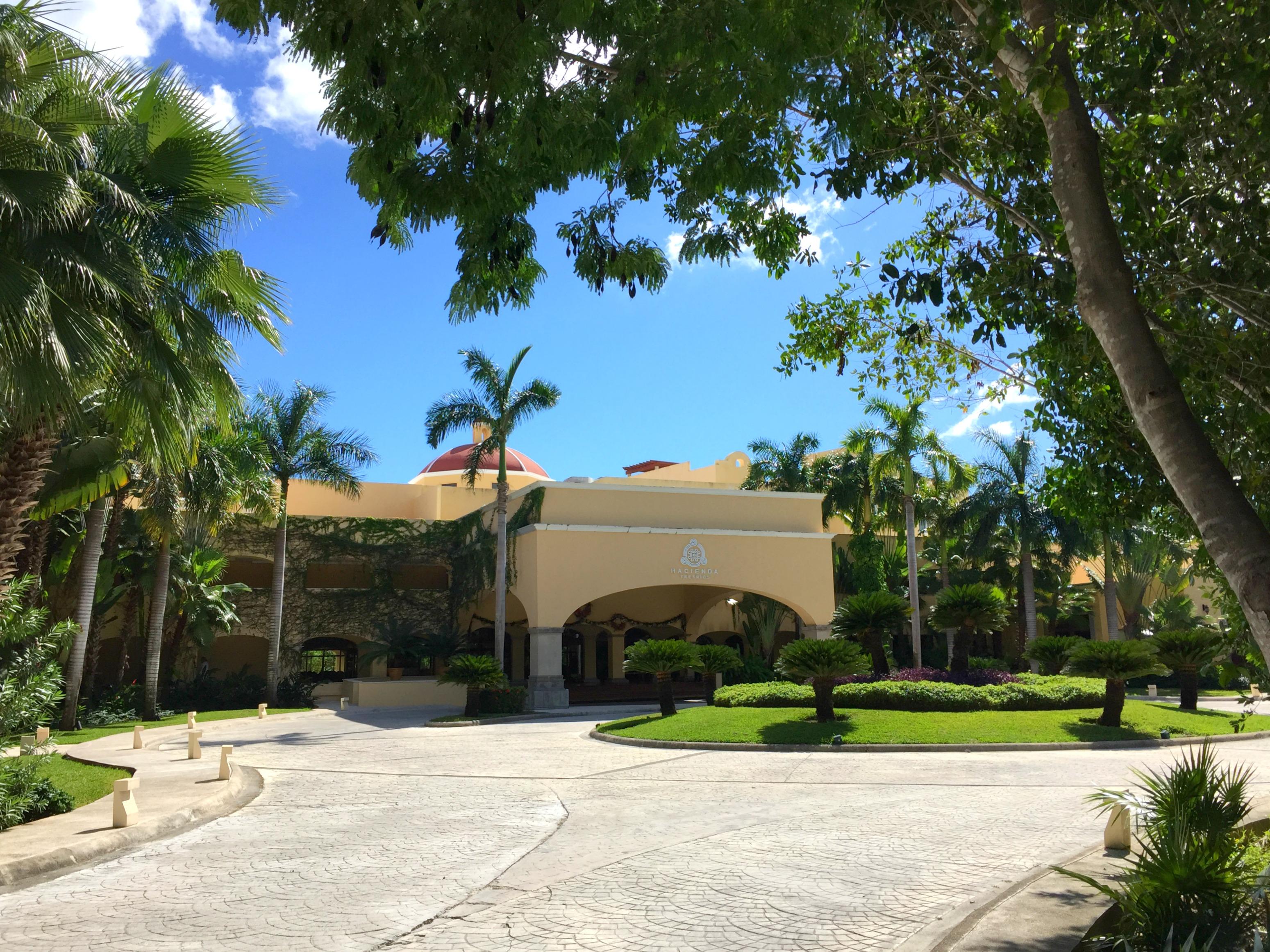 Hacienda Tres Rios Entrance