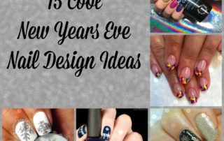 15 Cool New Years Eve Nail Design Ideas