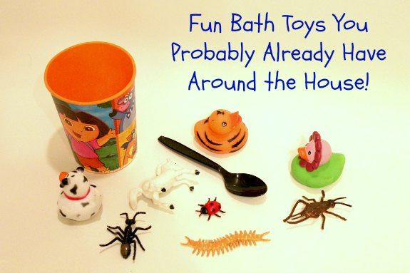 Cheap, Fun Bath Toys You Probably Already Have in Your House
