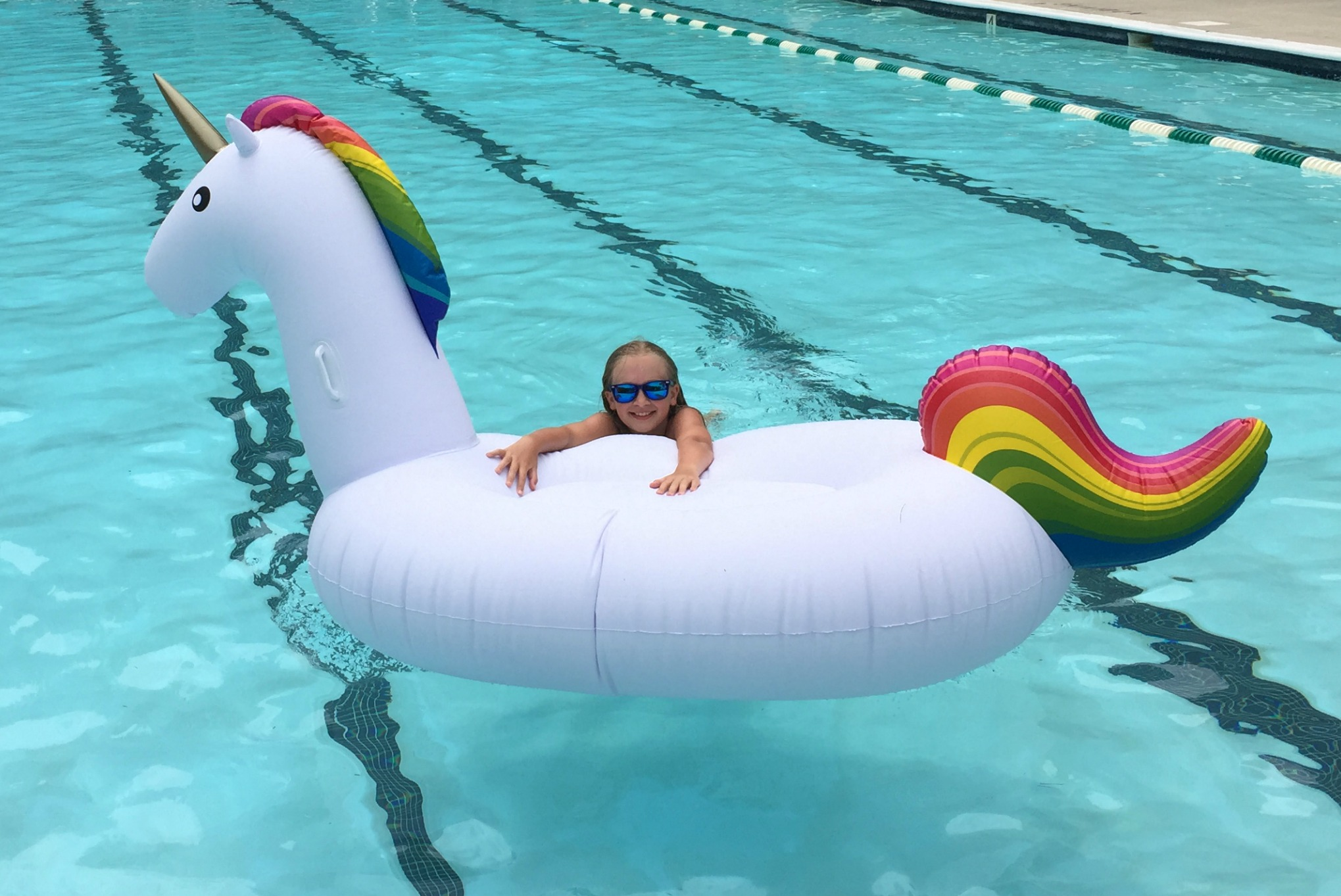 Floaty Unicorn Inflatable