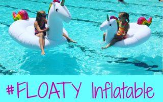 #FLOATY Inflatable Rainbow Unicorn