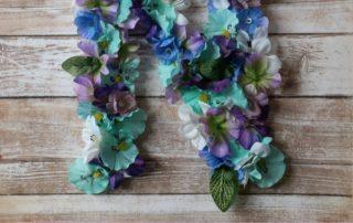 Easy DIY Floral Letters
