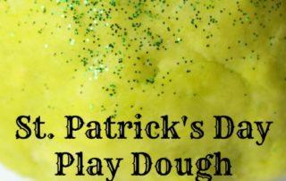 St Patricks Day Green Play Dough