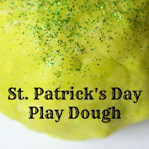 St Patricks Day Green Play Dough