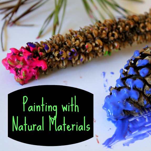 Nature Crafts for Kids: Painting with Natural Materials – A