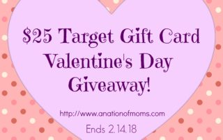 Valentine's Day Target Gift Card Giveaway