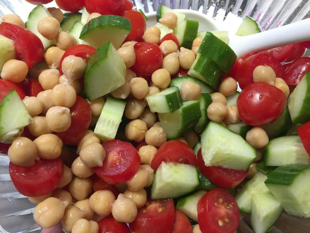 Hannaford Chickpea salad