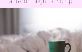 How You Can Get a Good Night's Sleep