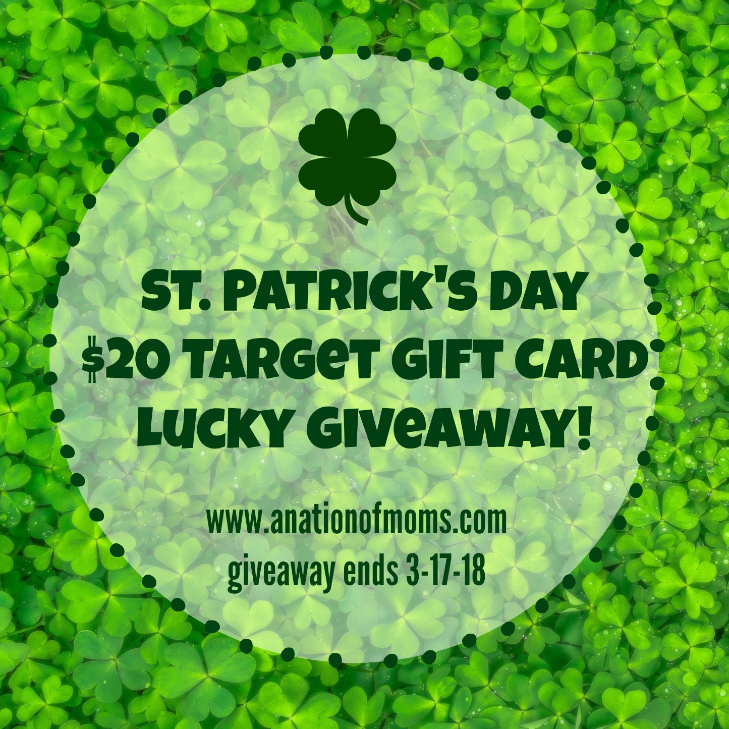 St Patrick's Day Giveaway