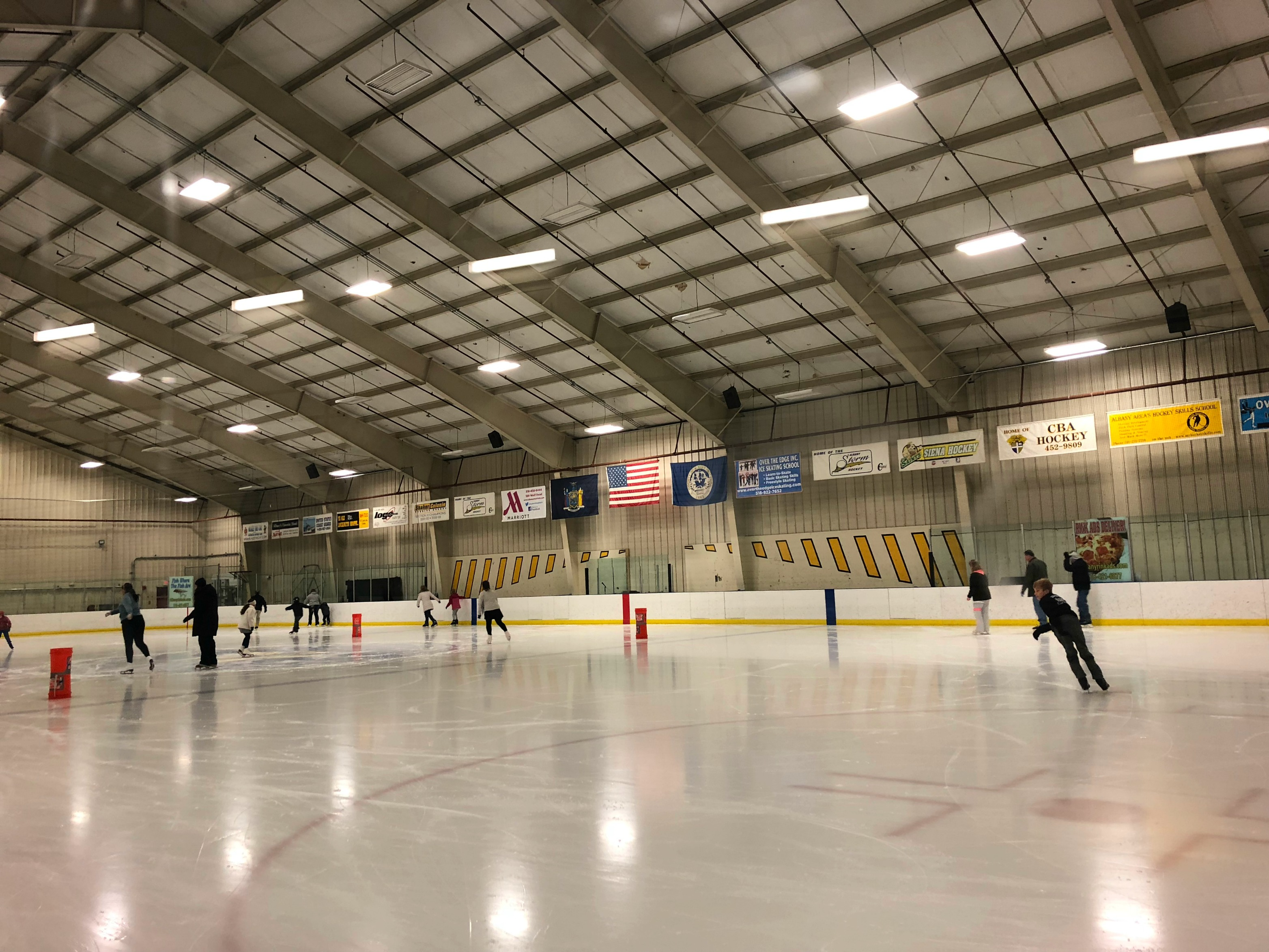 Albany Hockey Ice skating