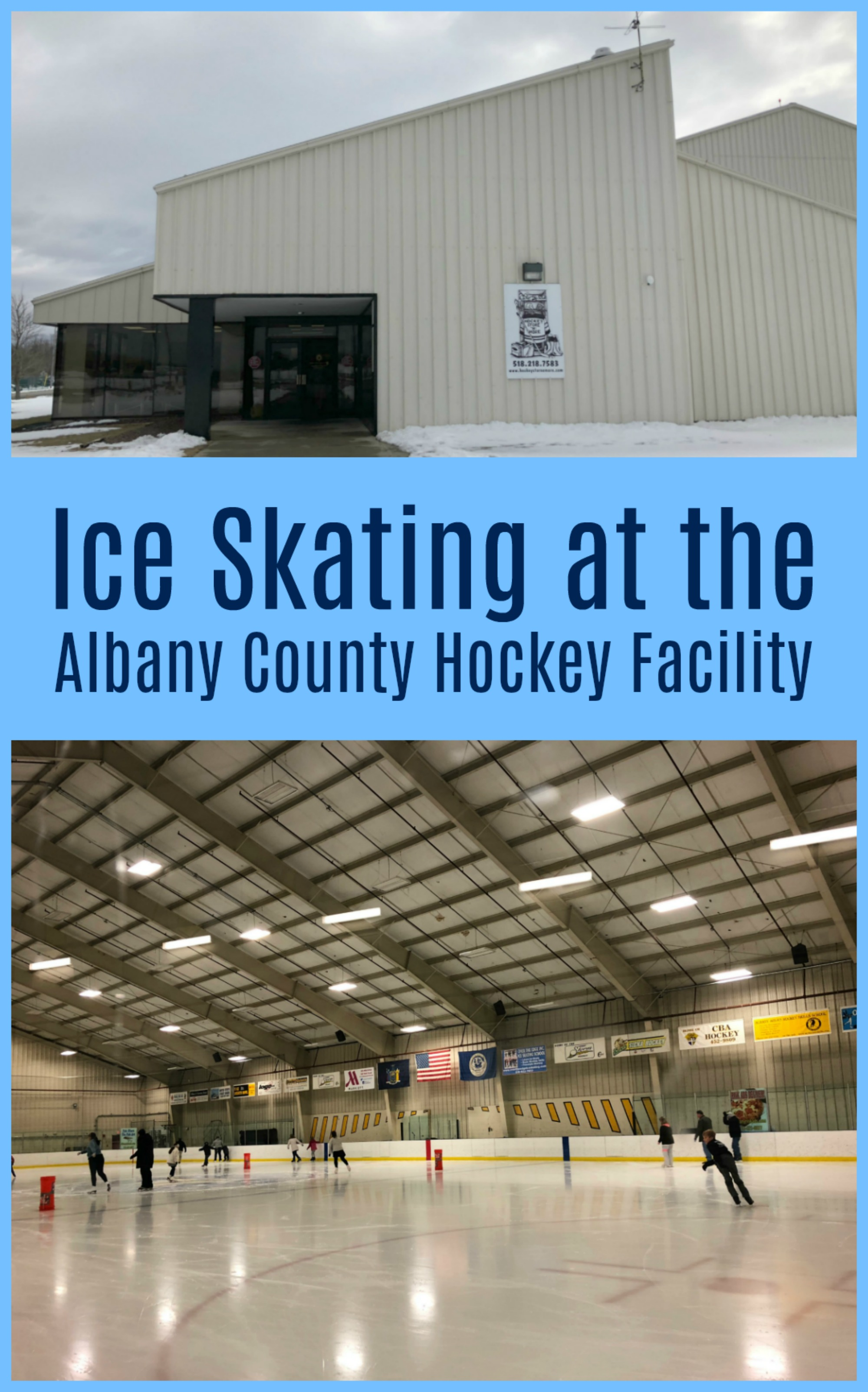 Ice Skating at the Albany County Hockey Facility