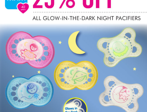 MAM's New Glow-in-the-Dark Pacifiers (**GIVEAWAY**)