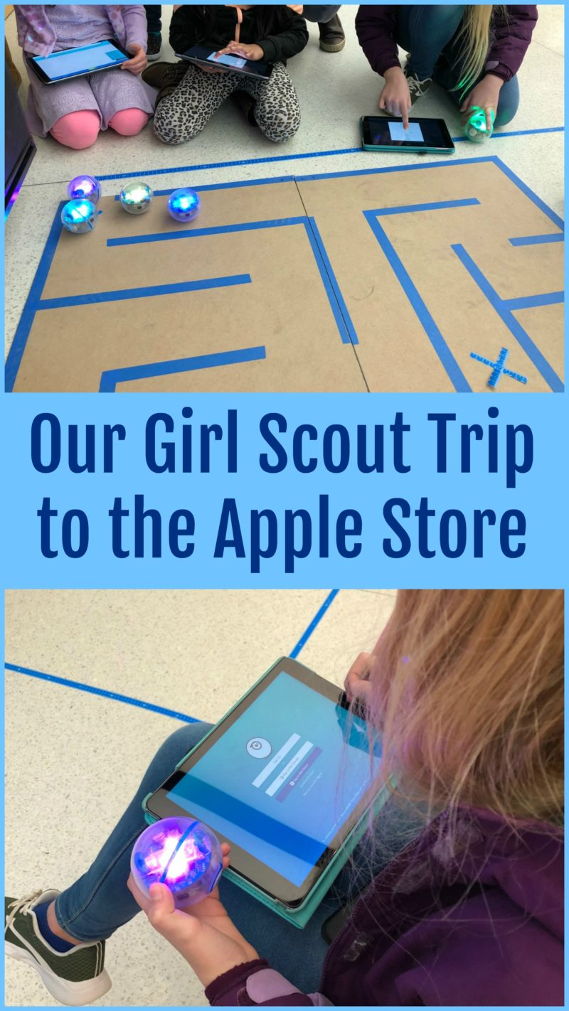 Girl Scout Troop Apple Store