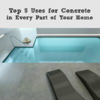 Top 5 Uses for Concrete in Every Part of Your Home