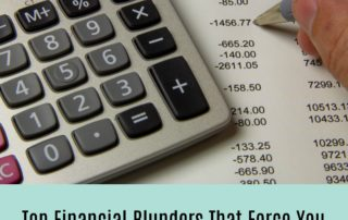 Top Financial Blunders that Force You to Opt for Debt Consolidation Loan