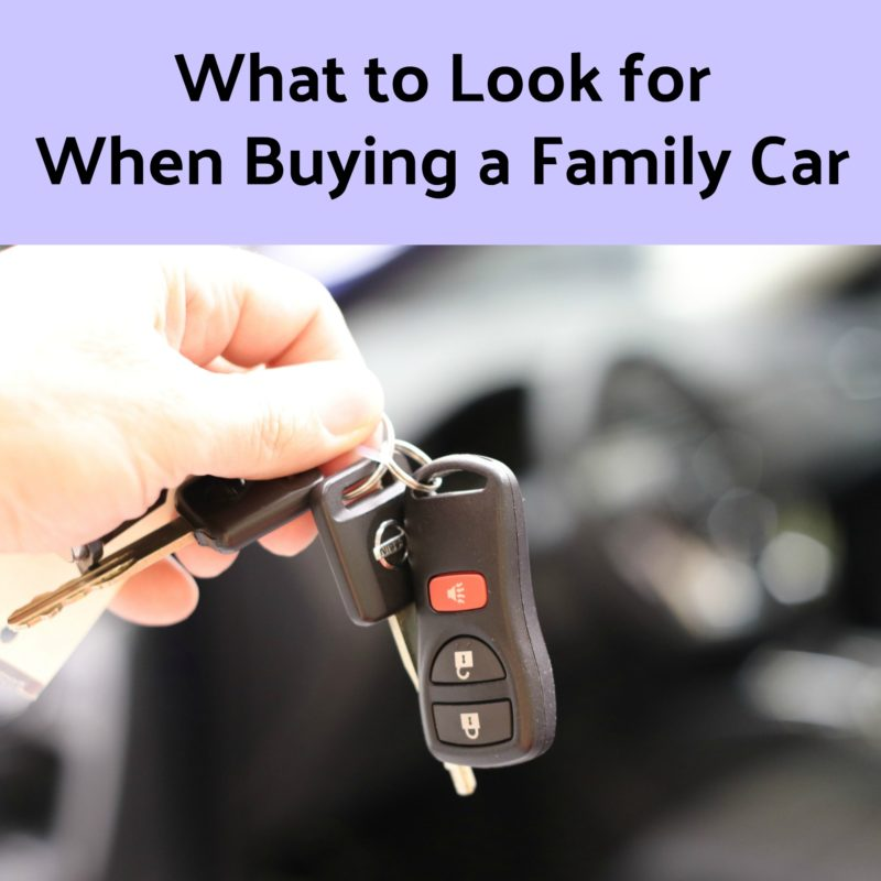 What to Look for When Buying a Family Car