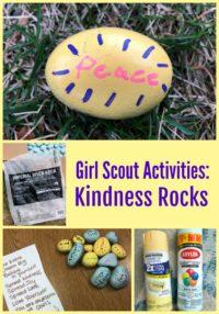 Girl Scouts Kindness Rocks