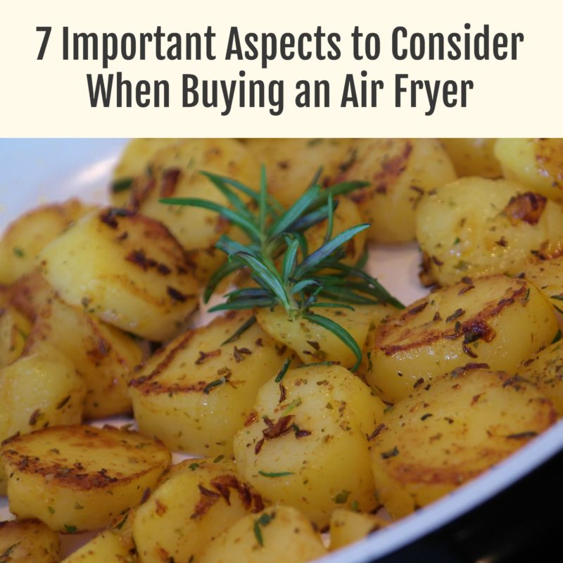 7 Important Aspects to Consider When Buying an Air Fryer