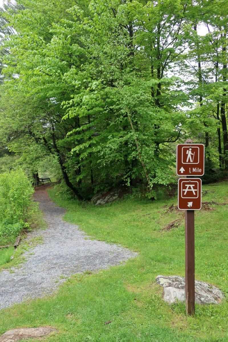 Hapgood Pond Trailhead Peru Vermont