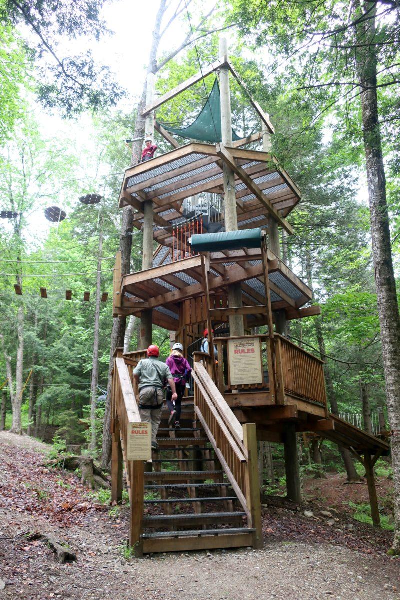 Haulback Adventure Course Okemo