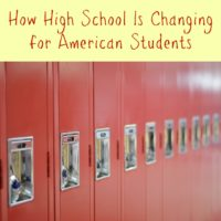 How High School Is Changing for American Students
