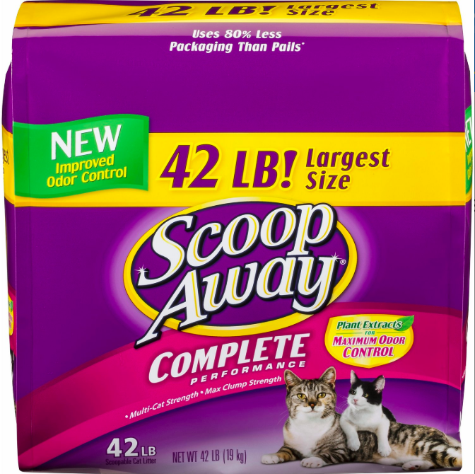 Scoop Away Litter
