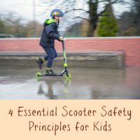 Playing It Safe: 4 Essential Scooter Safety Principles for Kids