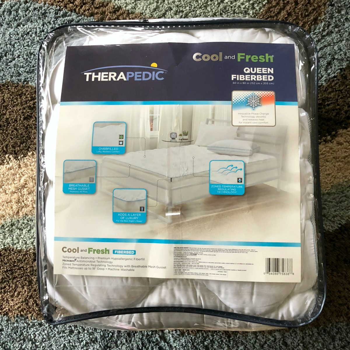 Therapedic Fiber Bed
