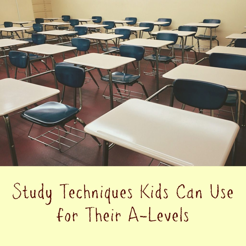 Study Techniques Kids Can Use for Their A-Levels
