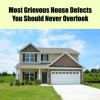 House Defects You Should Never Overlook